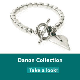 Danon jewellery has Danon necklace, Danon  earrings