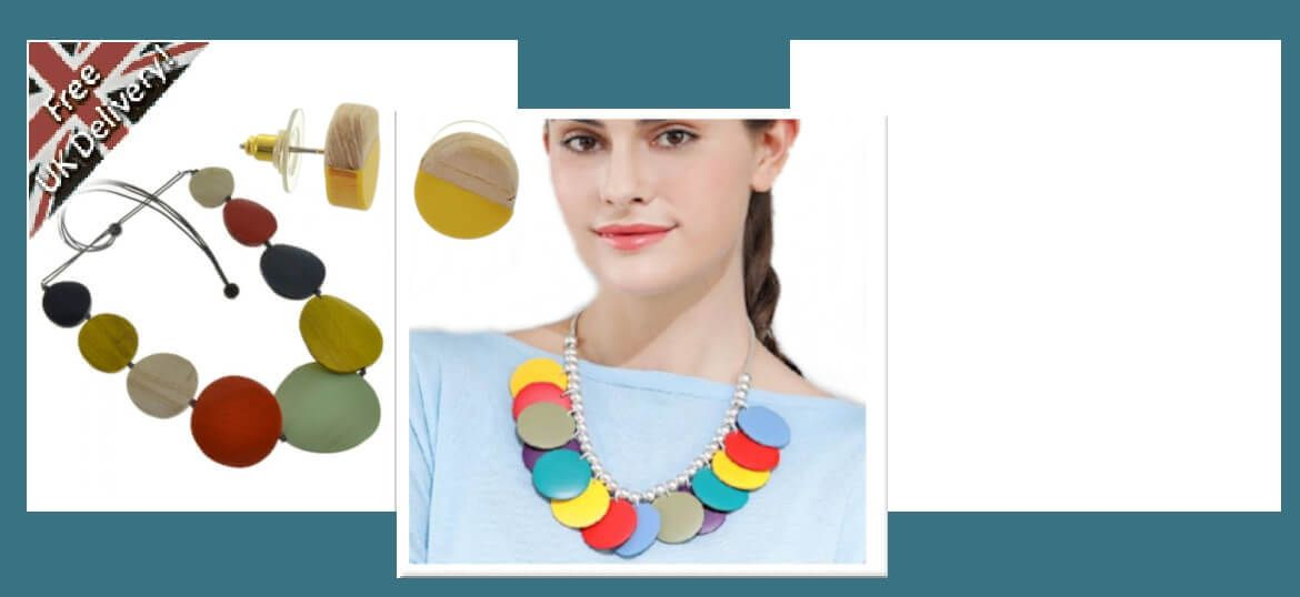 fashion jewellery wooden jewellery uk  summer-sterling silver rue b york jewellers