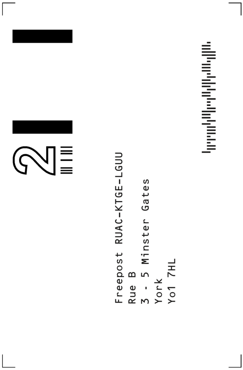 return label rueb